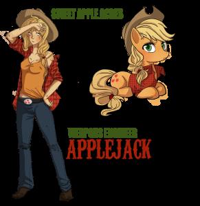 Applejack - zbraňový engeneer
