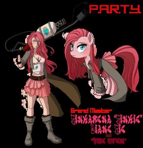 Pinkie Pie - Demolice