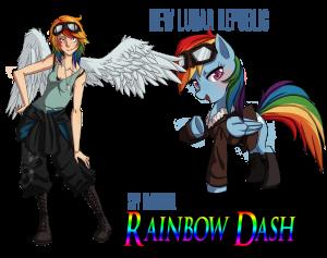 Rainbow Dash - Letecký expert